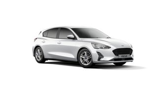 2019 Ford Focus SA 2019.75MY Trend Frozen White 8 Speed Automatic Hatchback