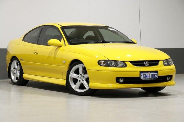 Used Holden Monaro V2 CV6, 2002 Holden Monaro V2 CV6 Devil Yellow 4 Speed Automatic Coupe