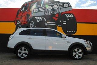 2012 Holden Captiva CG Series II MY12 7 AWD CX Olympic White 6 Speed Sports Automatic Wagon.