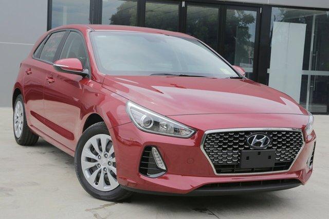 New Hyundai i30 PD MY19 Go, 2018 Hyundai i30 PD MY19 Go Fiery Red 6 Speed Sports Automatic Hatchback
