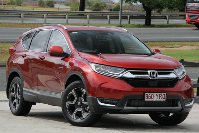 Demo Honda CR-V RW MY18 VTi-LX 4WD, 2018 Honda CR-V RW MY18 VTi-LX 4WD Passion Red 1 Speed Constant Variable Wagon