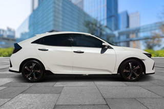 2018 Honda Civic 10th Gen MY18 RS White Orchid 1 Speed Constant Variable Hatchback