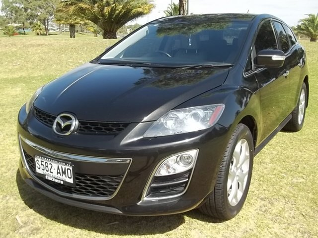 Used Mazda CX-7 ER1032 Luxury Activematic Sports, 2011 Mazda CX-7 ER1032 Luxury Activematic Sports Black 6 Speed Sports Automatic Wagon