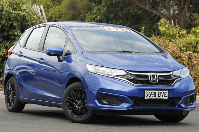 Used Honda Jazz GF MY19 VTi, 2018 Honda Jazz GF MY19 VTi Brilliant Sporty Blue 1 Speed Constant Variable Hatchback
