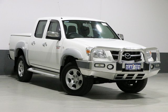 Used Mazda BT-50 09 Upgrade Boss B3000 SDX (4x4), 2011 Mazda BT-50 09 Upgrade Boss B3000 SDX (4x4) White 5 Speed Automatic Dual Cab Pick-up