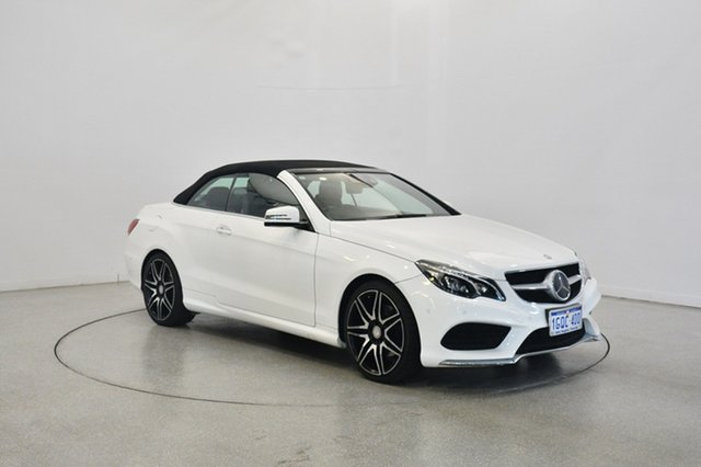 Used Mercedes-Benz E250 A207 MY14 7G-Tronic +, 2014 Mercedes-Benz E250 A207 MY14 7G-Tronic + White 7 Speed Sports Automatic Cabriolet