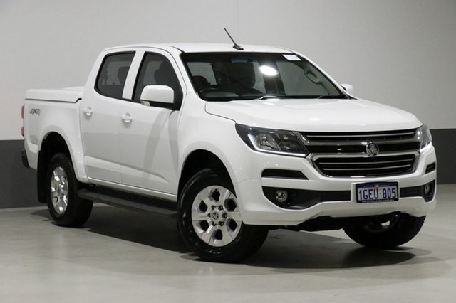 Used Holden Colorado RG MY17 LT (4x4), 2017 Holden Colorado RG MY17 LT (4x4) White 6 Speed Automatic Crew Cab Pickup