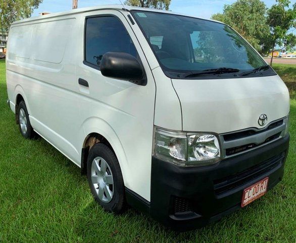 Used Toyota Hiace KDH201R MY11 LWB, 2010 Toyota Hiace KDH201R MY11 LWB White 5 Speed Manual Van