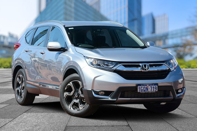 Demo Honda CR-V RW MY18 VTi-S FWD, 2018 Honda CR-V RW MY18 VTi-S FWD Lunar Silver 1 Speed Constant Variable Wagon