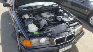 1997 BMW 3 Series E36 318i Black 4 Speed Automatic Sedan