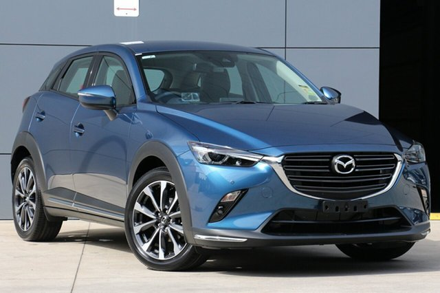 New Mazda CX-3 DK2W7A sTouring SKYACTIV-Drive, 2018 Mazda CX-3 DK2W7A sTouring SKYACTIV-Drive Eternal Blue 6 Speed Sports Automatic Wagon