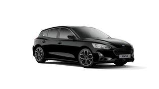 2018 Ford Focus SA 2019MY Titanium Shadow Black 8 Speed Automatic Hatchback.