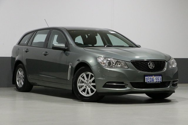 Used Holden Commodore VF Evoke, 2014 Holden Commodore VF Evoke Prussian Steel 6 Speed Automatic Sportswagon