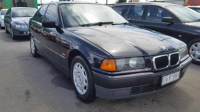 Used BMW 3 Series E36 318i, 1997 BMW 3 Series E36 318i Black 4 Speed Automatic Sedan
