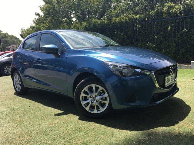 Demo Mazda 2 DJ2HA6 Maxx SKYACTIV-MT, 2018 Mazda 2 DJ2HA6 Maxx SKYACTIV-MT Eternal Blue 6 Speed Manual Hatchback