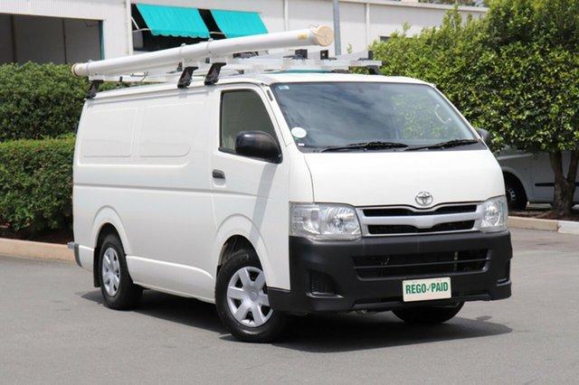 Used Toyota Hiace KDH201R MY12 LWB, 2013 Toyota Hiace KDH201R MY12 LWB Vanilla 5 Speed Manual Van