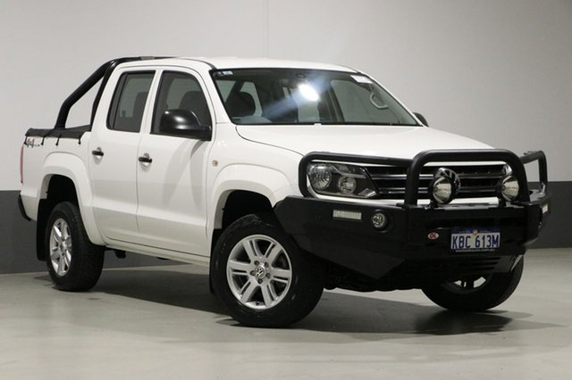 Used Volkswagen Amarok 2H MY16 TDI420 Core Plus (4x4), 2016 Volkswagen Amarok 2H MY16 TDI420 Core Plus (4x4) White 8 Speed Automatic Dual Cab Utility
