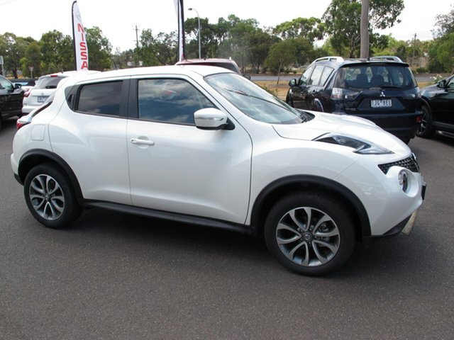 New Nissan Juke F15 Series 2 ST (FWD), 2018 Nissan Juke F15 Series 2 ST (FWD) Ivory Pearl 6 Speed Manual Wagon