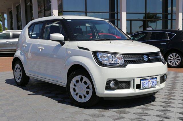 Demo Suzuki Ignis MF GL, 2018 Suzuki Ignis MF GL Pure White 1 Speed Constant Variable Hatchback