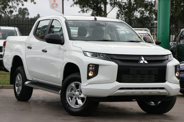 New Mitsubishi Triton MR MY20 GLX+ Double Cab, 2020 Mitsubishi Triton MR MY20 GLX+ Double Cab White 6 Speed Sports Automatic Utility