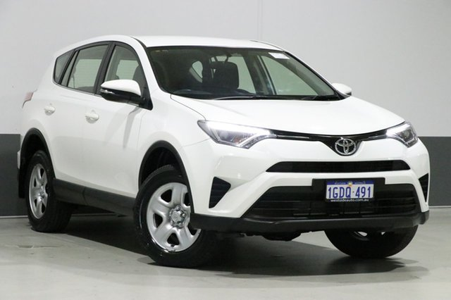 Used Toyota RAV4 ZSA42R MY16 GX (2WD), 2016 Toyota RAV4 ZSA42R MY16 GX (2WD) White Continuous Variable Wagon