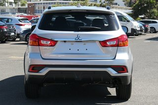 2018 Mitsubishi ASX XC MY19 LS (2WD) Sterling Silver Continuous Variable Wagon