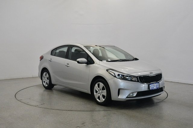 Used Kia Cerato YD MY17 S, 2017 Kia Cerato YD MY17 S Silver 6 Speed Sports Automatic Sedan