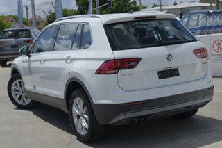 2018 Volkswagen Tiguan 5N MY19 132TSI DSG 4MOTION Comfortline Pure White 7 Speed.