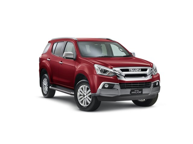 Demo Isuzu MU-X MY18 LS-T Rev-Tronic, 2018 Isuzu MU-X MY18 LS-T Rev-Tronic Magnetic Red 6 Speed Sports Automatic Wagon