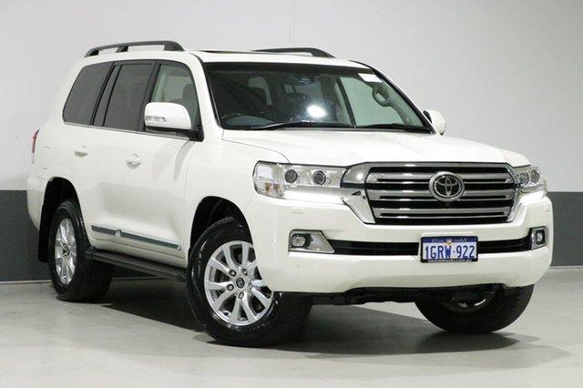 Used Toyota Landcruiser VDJ200R MY16 Sahara (4x4), 2015 Toyota Landcruiser VDJ200R MY16 Sahara (4x4) Crystal Pearl 6 Speed Automatic Wagon