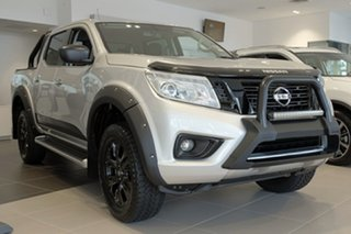 2018 Nissan Navara D23 S3 ST Black Edition Brilliant Silver 7 Speed Sports Automatic Utility.