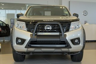 2018 Nissan Navara D23 S3 ST Black Edition Brilliant Silver 6 Speed Manual Utility.