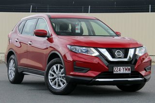 2018 Nissan X-Trail T32 Series II ST X-tronic 2WD Ruby Red 7 Speed Constant Variable Wagon.