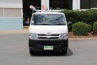 2013 Toyota Hiace KDH201R MY12 LWB Vanilla 5 Speed Manual Van.