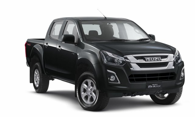 Demo Isuzu D-MAX MY18 LS-M Crew Cab, 2018 Isuzu D-MAX MY18 LS-M Crew Cab Cosmic Black 6 Speed Manual Utility