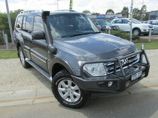 2011 Mitsubishi Pajero NT MY11 30th Anniversary Graphite 5 Speed Sports Automatic Wagon.
