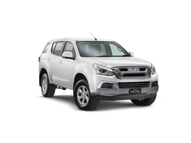 Demo Isuzu MU-X MY18 LS-M Rev-Tronic, 2018 Isuzu MU-X MY18 LS-M Rev-Tronic Splash White 6 Speed Sports Automatic Wagon
