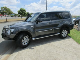 2011 Mitsubishi Pajero NT MY11 30th Anniversary Graphite 5 Speed Sports Automatic Wagon