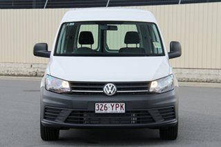 2018 Volkswagen Caddy 2KN MY19 TSI220 SWB DSG Candy White 7 Speed Sports Automatic Dual Clutch Van
