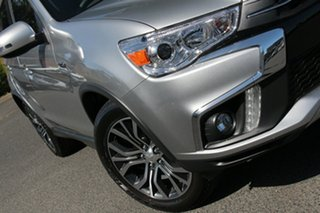 2018 Mitsubishi ASX XC MY19 LS (2WD) Sterling Silver Continuous Variable Wagon.