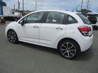 2013 Citroen C3 A51 MY14 Exclusive White 4 Speed Sports Automatic Hatchback.