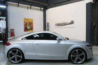 2011 Audi TT 8J MY11 S tronic quattro Silver 6 Speed Sports Automatic Dual Clutch Coupe.