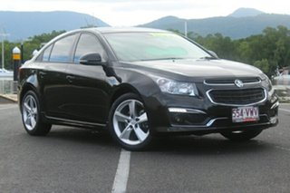 2015 Holden Cruze JH Series II MY15 SRi-V Black 6 Speed Manual Sedan.