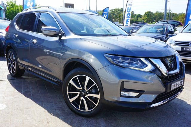 Used Nissan X-Trail T32 Series II Ti X-tronic 4WD, 2017 Nissan X-Trail T32 Series II Ti X-tronic 4WD Grey 7 Speed Constant Variable Wagon