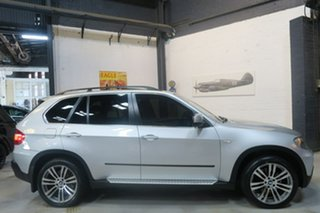 2009 BMW X5 E70 MY10 xDrive48i Steptronic Silver 6 Speed Sports Automatic Wagon.