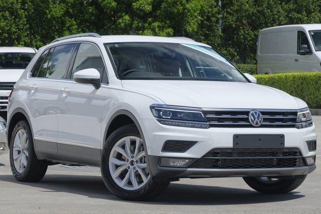 New Volkswagen Tiguan 5N MY19 132TSI DSG 4MOTION Comfortline, 2018 Volkswagen Tiguan 5N MY19 132TSI DSG 4MOTION Comfortline Pure White 7 Speed