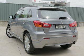 2012 Mitsubishi ASX XA MY12 2WD Grey 6 Speed Constant Variable Wagon.