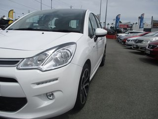 2013 Citroen C3 A51 MY14 Exclusive White 4 Speed Sports Automatic Hatchback