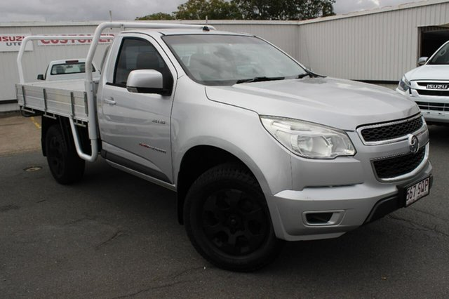Used Holden Colorado RG MY13 LX, 2012 Holden Colorado RG MY13 LX Silver 5 Speed Manual Cab Chassis