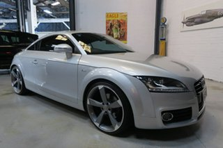2011 Audi TT 8J MY11 S tronic quattro Silver 6 Speed Sports Automatic Dual Clutch Coupe